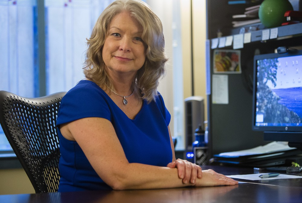 Laurie Clark, director of compensation for the University of Maine System,  says the new rules for overtime will affect about 700 employees, including admissions officers and some coaches. Carl D. Walsh/Staff Photographer