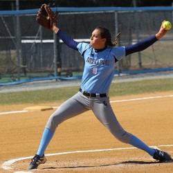 """""""It's so exciting,"""" said South Portland's Erin Bogdanovich, standout pitcher on the UMaine softball team. """"It feels like such an honor to have made it this far."""""""