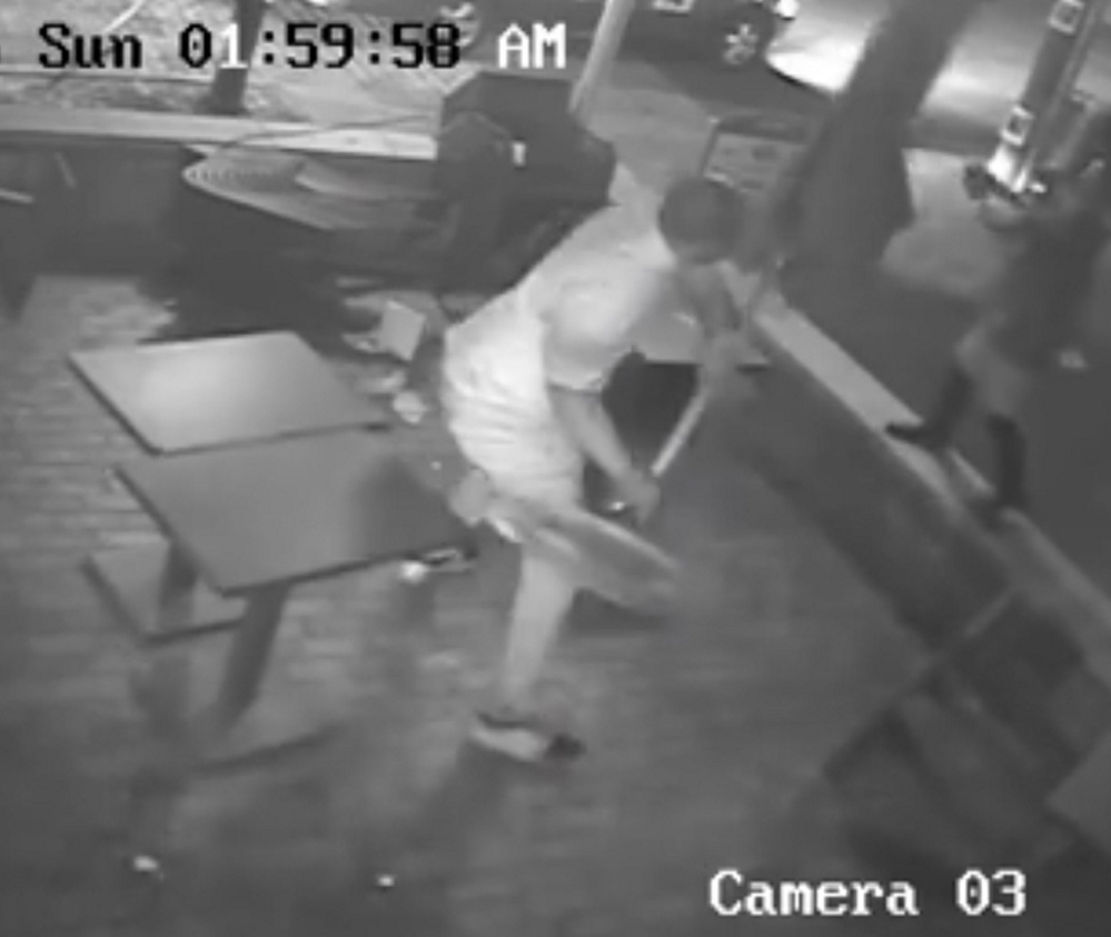 Watch the security camera video online at pressherald.com