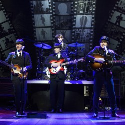 """""""Let It Be"""" is a high-energy tribute show about the Beatles was the season-opener at The Ogunquit Playhouse."""
