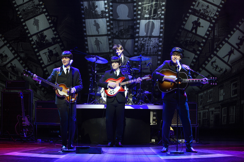 """Let It Be"" is a high-energy tribute show about the Beatles was the season-opener at The Ogunquit Playhouse."