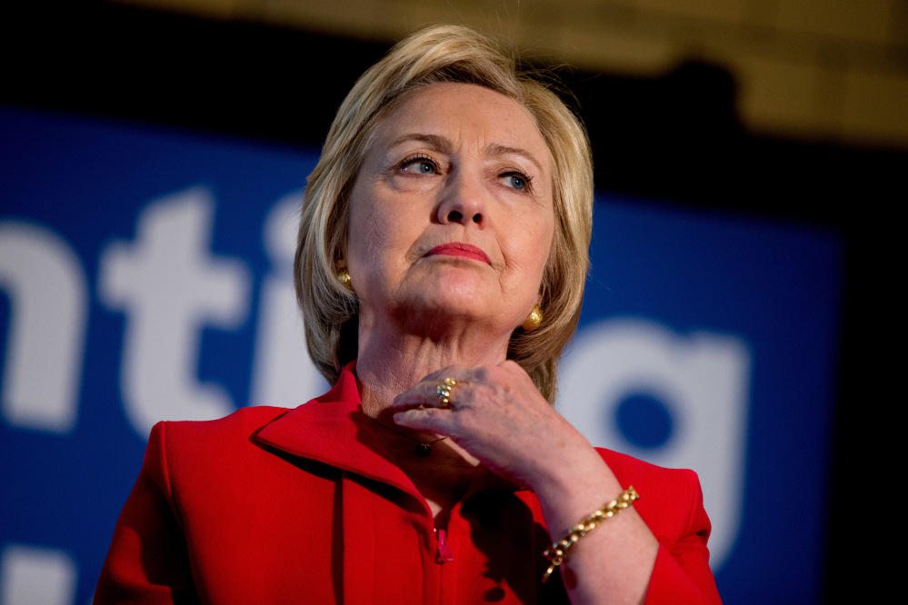 Hillary Clinton's biggest popularity struggles continue to be among men, where her unfavorable rating stands at 63 percent, rising to 75 percent among white men.