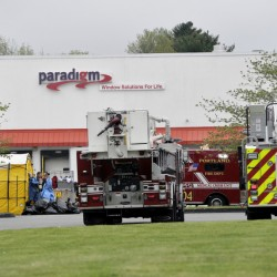 The Portland Fire Department is on the scene of an ammonia leak at 56 Milliken St. Tuesday.