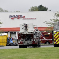 The Portland Fire Department contained an ammonia leak at 56 Milliken St. early Tuesday morning.