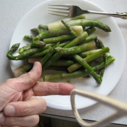 Was this asparagus boiled too long or cooked just right?