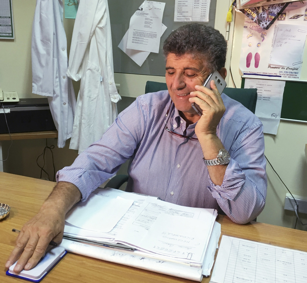 Dr. Pietro Bartolo  wants to adopt an orphan baby who was rescued last Thursday in Lampedusa.  The Associated Press