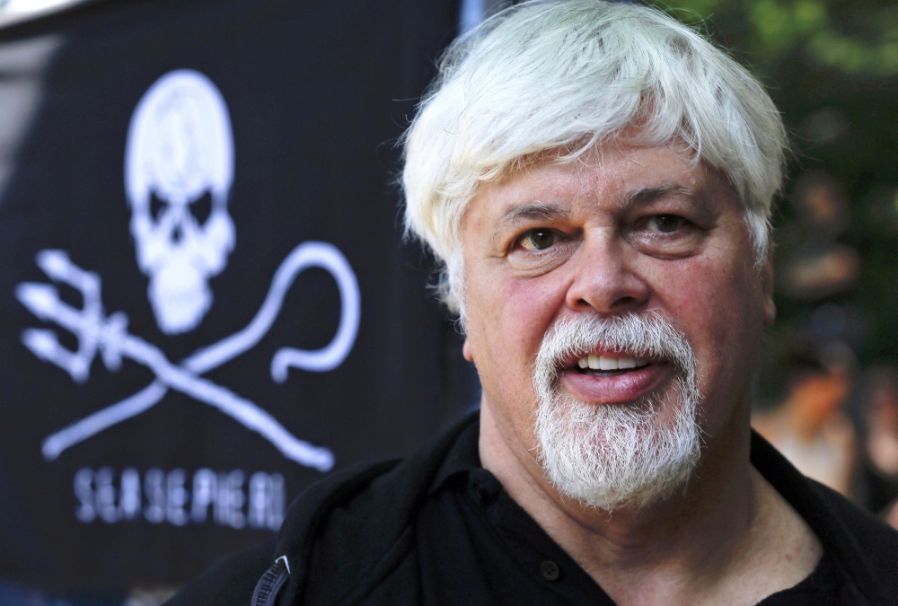 Granted asylum in France, Paul Watson, founder and president of Sea Shepherd Conservation, attracts as much attention at the Cannes Film Festival as any screen star.