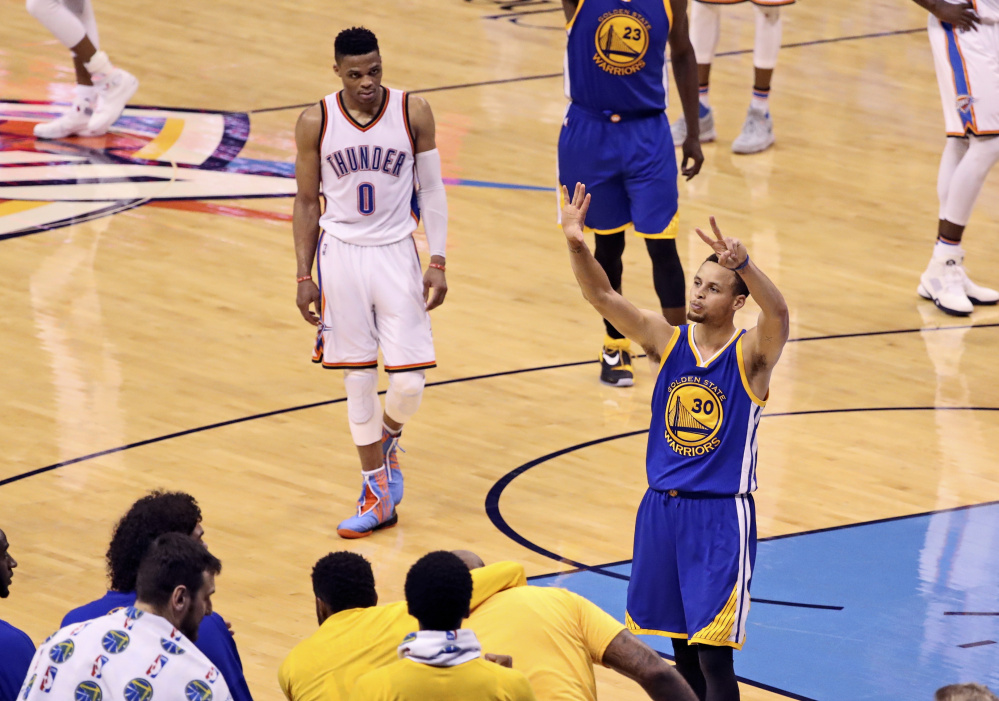 Stephen Curry and the Golden State Warriors rallied to win Game 6 on Saturday and erased a 3-1 deficit to force a Game 7, and now must win one more time to reach their second straight NBA finals.