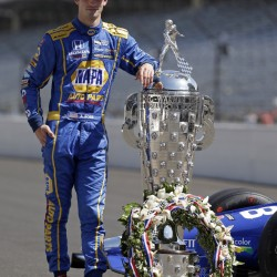 Indianapolis 500 winner Alexander Rossi used fuel strategy to stretch his final tank of gas, avoid a late pit stop and win the 100th running of the fabled race.