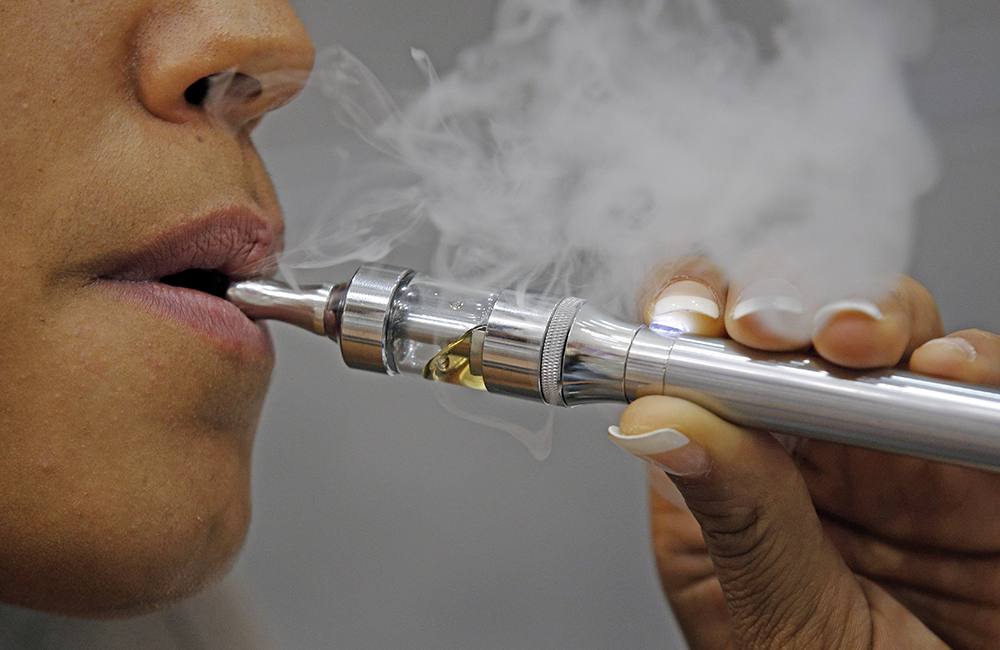 Manufacturers insist e-cigarettes are aimed solely at adults, but the CDC reported last year that the number of middle and high school students using them tripled from 2013 to 2014. The Associated Press