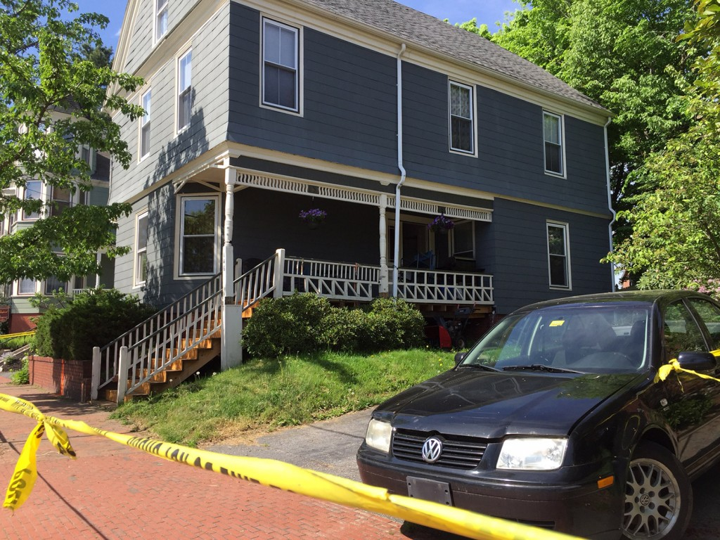 A man was seriously injured in a shooting late Monday at this home at  146 Chadwick St. in Portland.