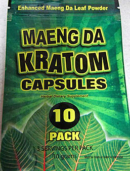 "The product pictured is one of many the FDA has pulled off the market because of '""undeclared drug ingredients."" But researchers say that their work with kratom could eventually lead to the development of nonaddictive alternatives to powerful opiate painkillers."
