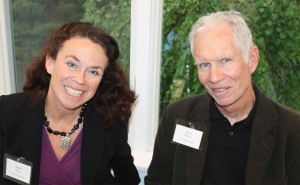 Susan Morris and Chip Newell of Portland attended the Portland Chamber Music Festival annual spring benefit.