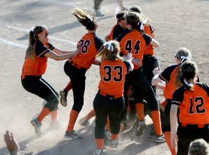 Biddeford used  two sixth-run innings to defeat Skowhegan 12-7 and claim the Class a title.