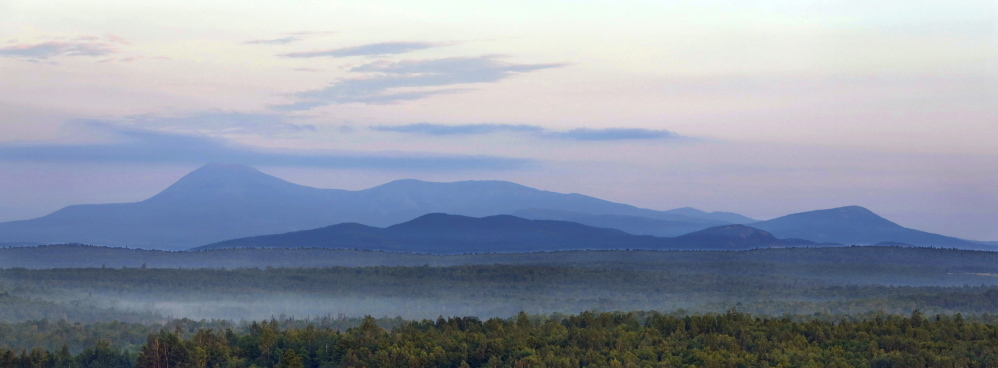 If 87,500 acres of land east of Mount Katahdin and Baxter State Park is designated a national monument, it wouldn't change how the property is used.