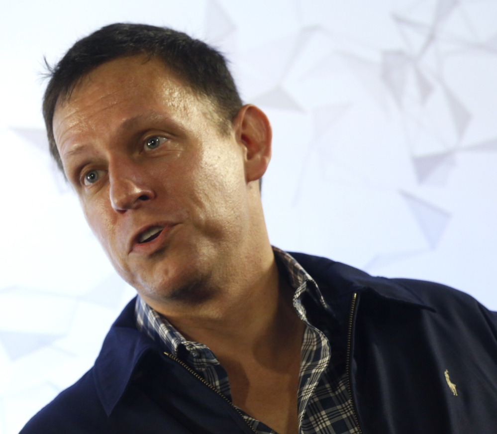 "Peter Thiel says his actions against Gawker Media stems from its ""bullying people"" over trivial matters."