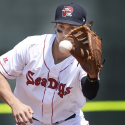 Ryan Court of the Sea Dogs is making good use of a second chance in the minors after playing for an independent team.