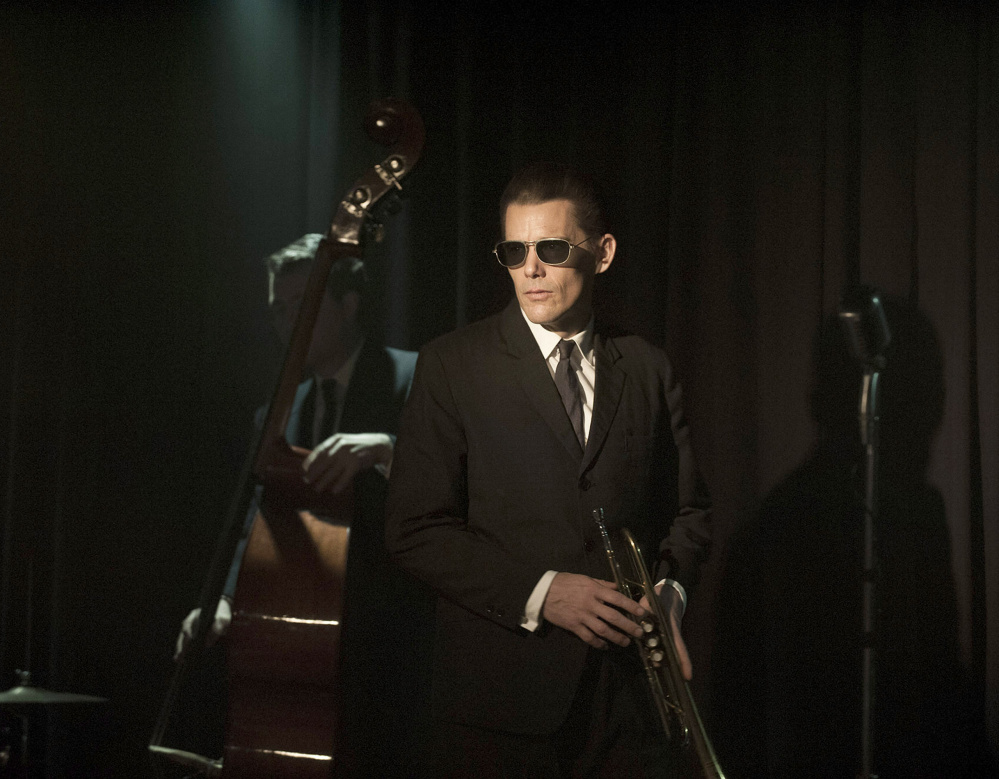 """Ethan Hawke as Chet Baker in """"Born to Be Blue."""""""