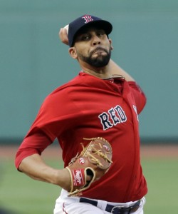 Boston's David Price allowed just six hits and two earned runs in seven innings Friday night but took the loss against the Toronto Blue Jays at Fenway Park. (AP Photo/Elise Amendola)