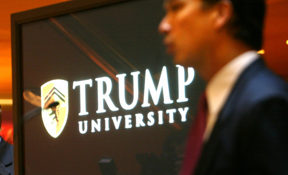Trump University was rolled out in 2005 with much fanfare.