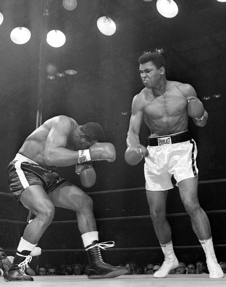 Muhammad Ali fought just once in Maine, but his first-round knockout of Sonny Liston in 1965 in Lewiston lives on as one of the iconic moments in heavyweight boxing history.