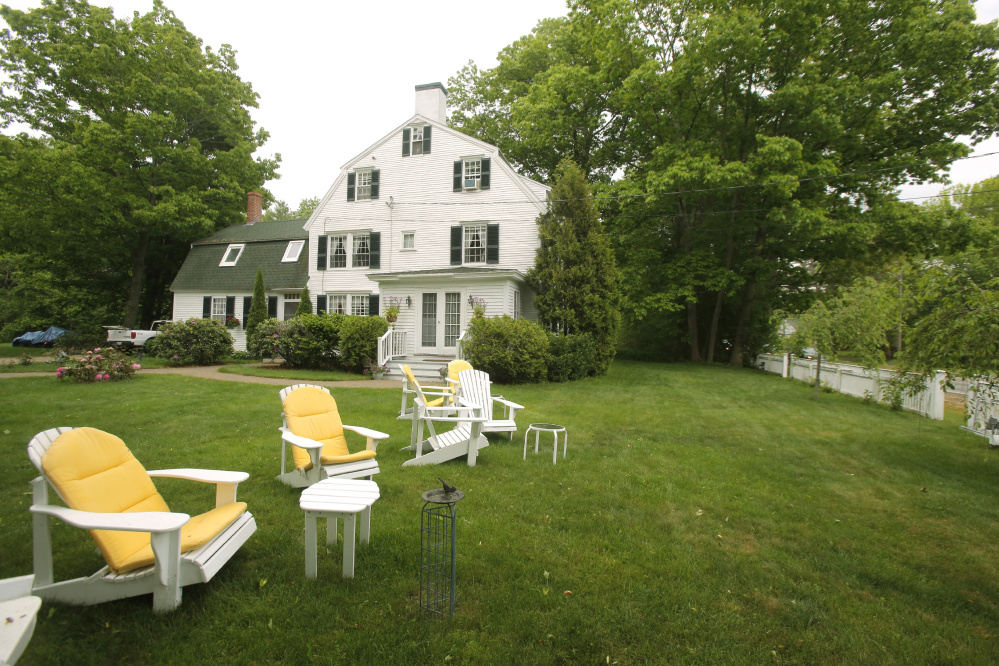 John and Kathy Daamen bought the Waldo Emerson Inn in Kennebunk 13 years ago as a retirement project, but the limitation on the number of rooms they can rent hurts their profitability.