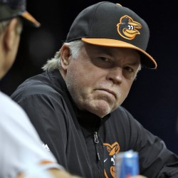 Manager Buck Showalter continues to push all the right buttons, as his Baltimore Orioles meet the Red Sox for three games starting Tuesday night at Fenway Park.
