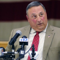 Gov. LePage told a June 8 town hall meeting in Augusta, above, that it's critical that legislators return to the capital to deal with four measures that weren't properly funded. But the situation apparently isn't dire enough to drive him to contact legislative leaders or present a detailed plan to address his concerns.