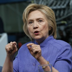 Hillary Clinton and Democrats are planning a summer of brutal attacks on Donald Trump, reserving more than $26 million in cable and network airtime for largely negative advertising against him over the next six weeks.