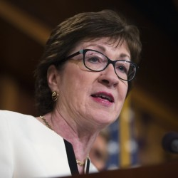 """""""I had hoped that we would see a 'new' Donald Trump as a general-election candidate,"""" Collins wrote. """"But the unpleasant reality that I have had to accept is that there will be no 'new' Donald Trump."""""""