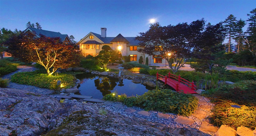 Asian Themed Islesboro Mansion Sells At Auction For Undisclosed Price Portland Press Herald