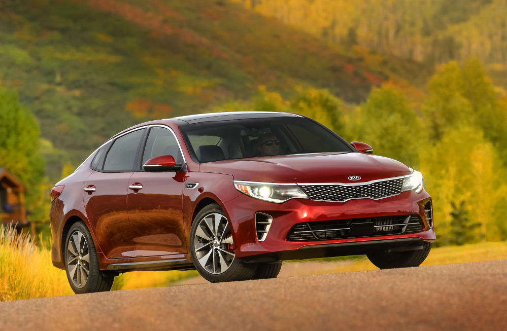 The 2016 Kia Optima Sx 2 0 Turbo Is One Model In Brand For Mes