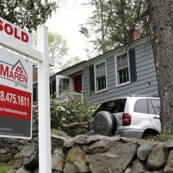 Mortgage rates in the past month of about 3.7 percent for 30-year fixed-rate mortgages have been good for home sales, like this one in Andover, Mass. Now analysts expect Britain's vote to leave the European Union to push mortgage rates even lower.
