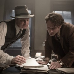 "Colin Firth, left, and Jude Law in ""Genius."""