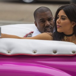 "Kanye West and his wife, Kim Kardashian, appear in his ""Famous"" video, as do a slew of other celebrities – depicted unclothed."