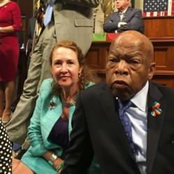 Democratic members of Congress, including Rep. John Lewis of Georgia, center, and Rep. Elizabeth Esty of Connecticut, disrupted business in the House last week, but they could have picked a better bill to fight for.
