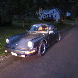 Two 15-year-olds are accused of stealing this 1979 Porsche from Foggy Bottom Campground in Farmingdale.