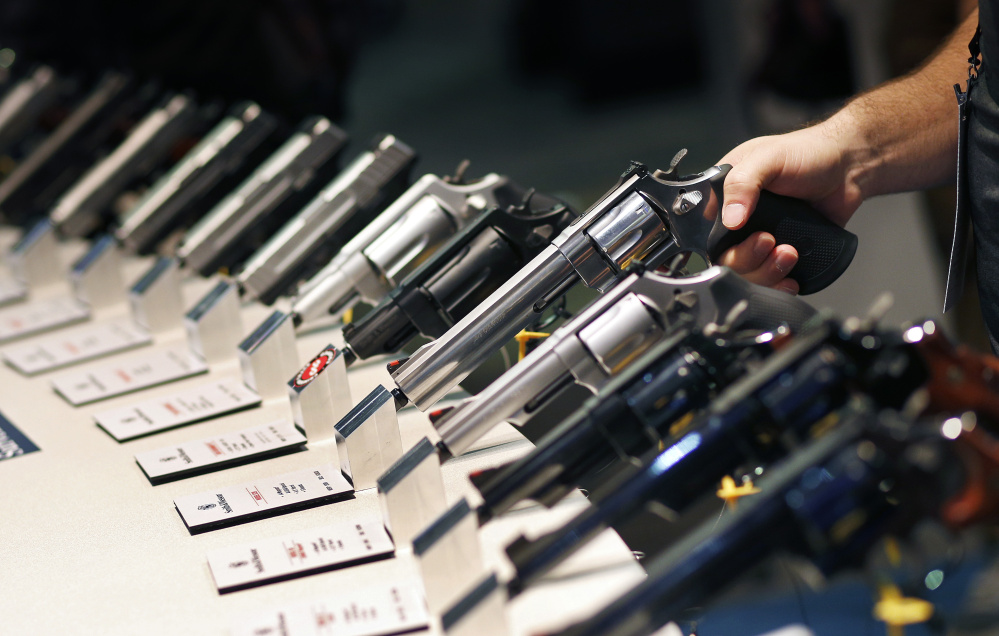 Even as overall gun ownership dipped, studies suggest those owning guns now buy more, with an average of eight, double that of the 1990s.