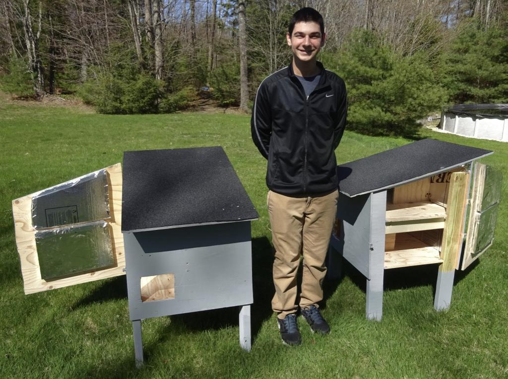 Josh Pasarelli Of Scarborough Built Several Cat Houses For Outdoor, Feral  Cat Colonies As Part Of His Bid To Earn The Rank Of Eagle Scout.