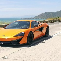 The 570S is the first McLaren with a vanity mirror.