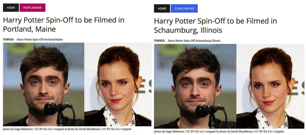 Portland, Maine, or Schaumberg, Illinois? Either city could be the perfect place for a Harry Potter spin-off.