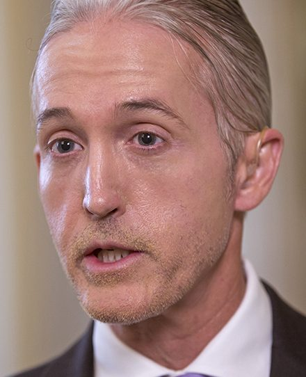 Rep. Trey Gowdy, R-S.C., then-chairman of the House Benghazi Committee, discusses his final report in June 2016 on the attacks on the U.S. consulate that killed four Americans, including Ambassador Christopher Stevens.