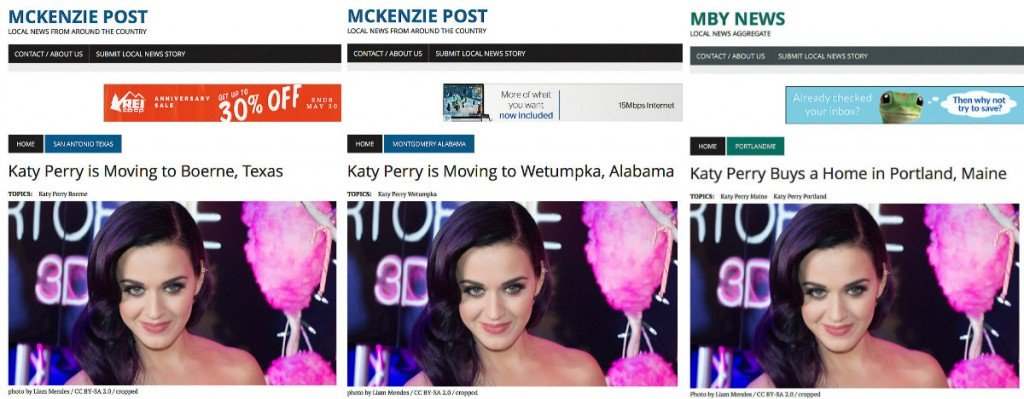 So where is Katy Perry really moving to?