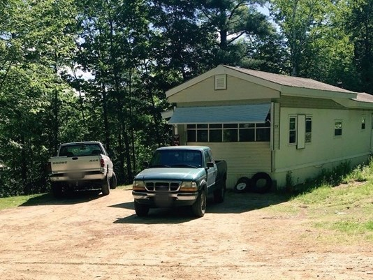 A New Sharon man was fatally shot at this home at 259 Weld Road in Wilton on Wednesday.