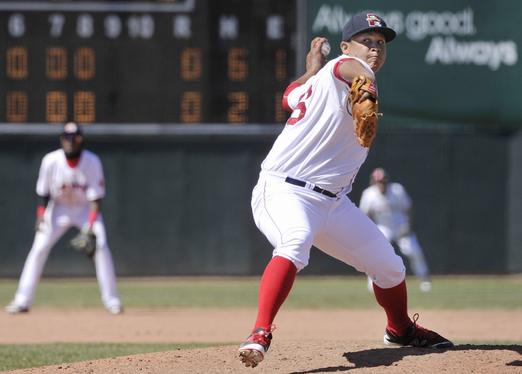 The Red Sox love the potential of reliever Williams Jerez, an outfielder-turned-pitcher who simply needs experience. John Ewing/Staff Photographer