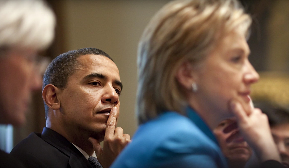 """""""I know how hard this job can be, that's why I know Hillary will be so good at it,"""" President Barack Obama says in a video."""