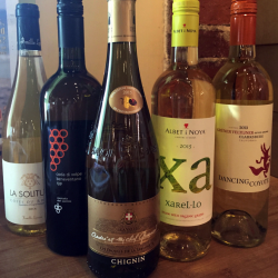 In warmer months, of course, one can more easily get away with an enthusiasm for white wines.   Photo by Joe Appel