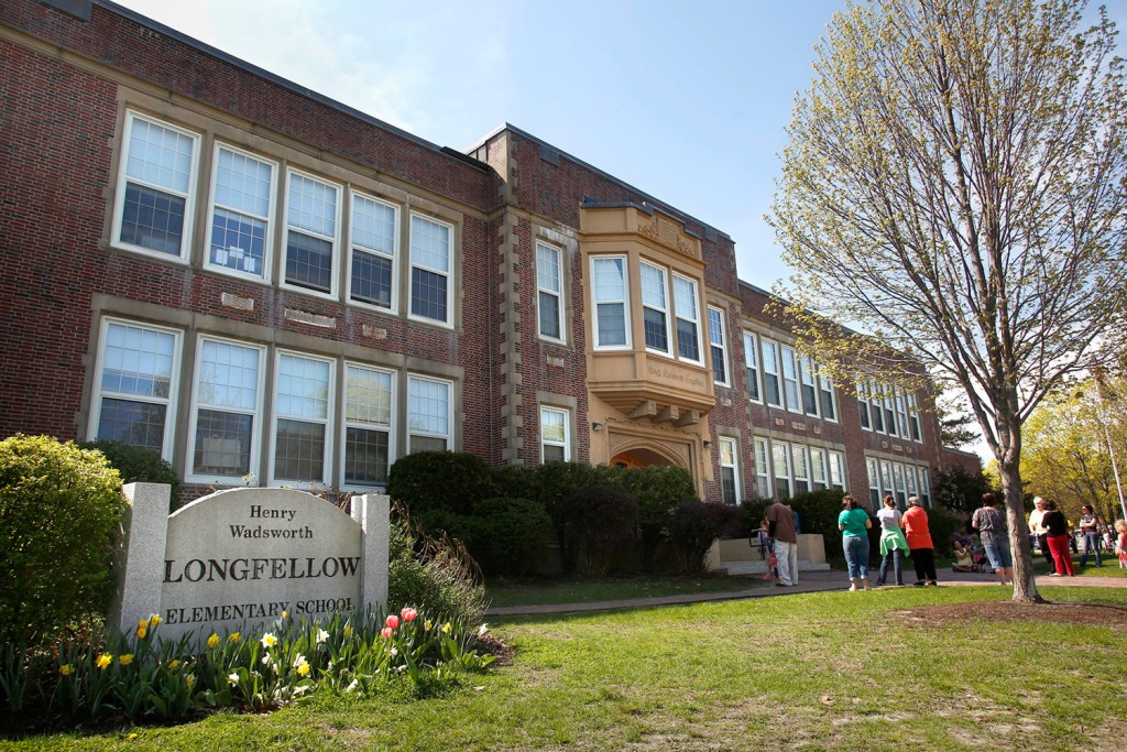 Longfellow Elementary School is one of four elementary schools in Portland that are up for renovations, now