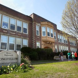 Longfellow Elementary School is one of four elementary schools in Portland that would be upgraded if the city borrows money.