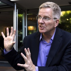 Rick Steves, one of the country's most visible advocates of marijuana legalization, donated $50,000 to Maine's campaign.